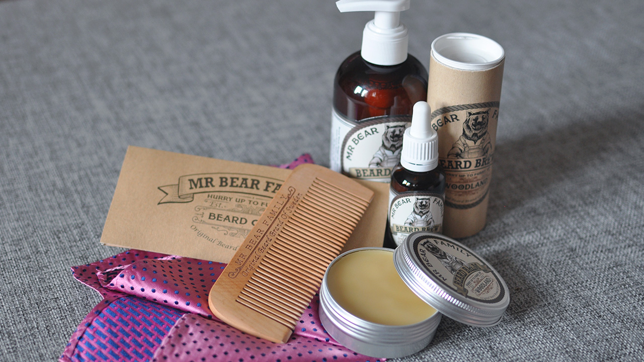 Beard products from Mr Bear Family
