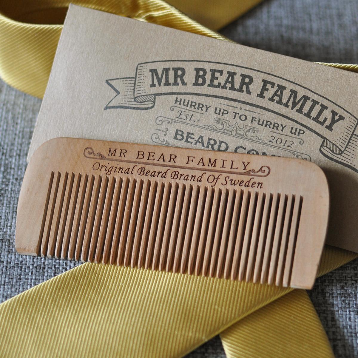 Beard comb from Mr Bear Family